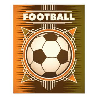 Football Soccer Sport Ball 11.5 Cm X 14 Cm Flyer