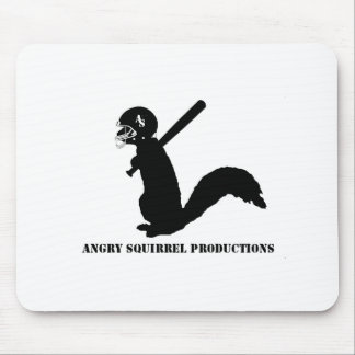 Football Squirrel Mouse Pad