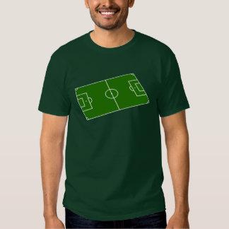 Football stadium design t-shirts