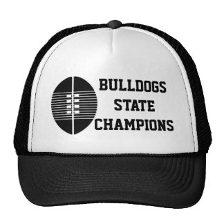 Football State Trucker Cap