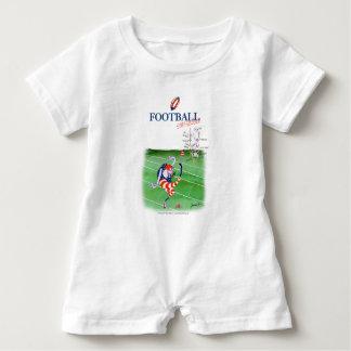 Football stay focused, tony fernandes baby bodysuit