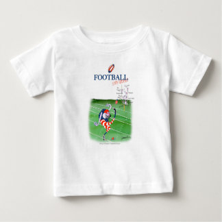 Football stay focused, tony fernandes baby T-Shirt