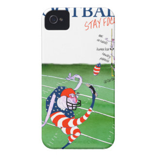 Football stay focused, tony fernandes iPhone 4 covers