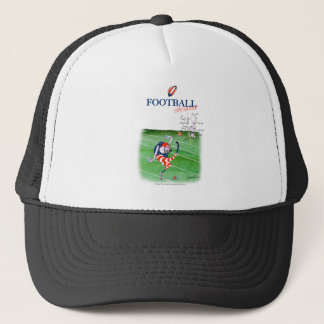 Football stay focused, tony fernandes trucker hat