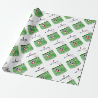 Football stay focused, tony fernandes wrapping paper