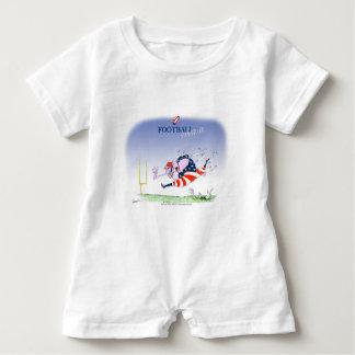 Football steamroller, tony fernandes baby bodysuit