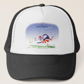 Football steamroller, tony fernandes trucker hat