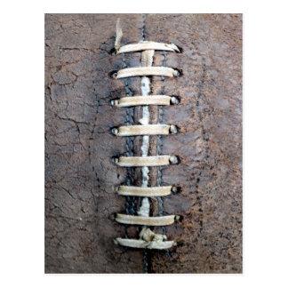 Football Strings vertical Postcard