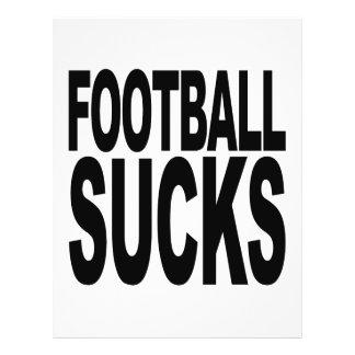 Football Sucks Custom Flyer