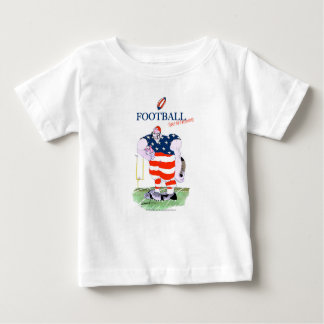 Football take no prisoners, tony fernandes baby T-Shirt