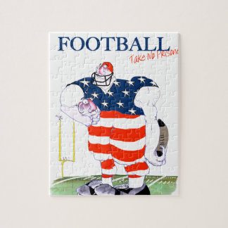 Football take no prisoners, tony fernandes jigsaw puzzle