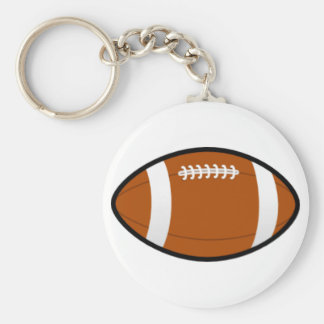 Football Team Keychain