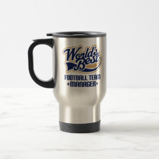 Football Team Manager Gift Travel Mug