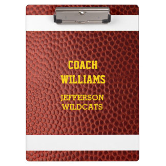 Football Texture Personalised Clipboard