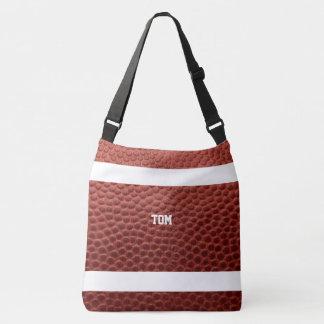 Football Texture Personalized Crossbody Bag