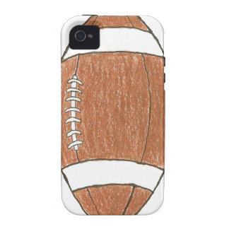 Football theme iPhone case iPhone 4 Covers