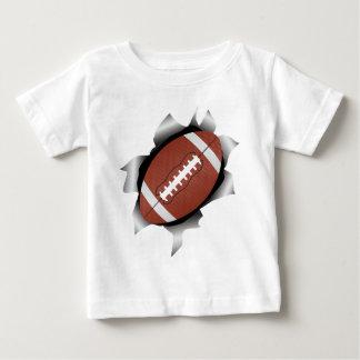 football thru metal sheet baby T-Shirt