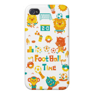 football time- iPhone 4 cover