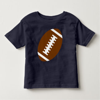 FOOTBALL TODDLER Navy Blue | Front Football Toddler T-Shirt