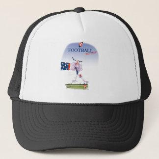Football touch down, tony fernandes trucker hat