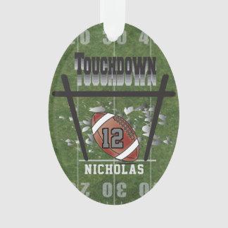 Football Touchdown Ornament