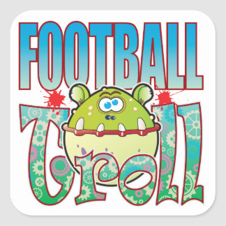 Football Troll Square Sticker