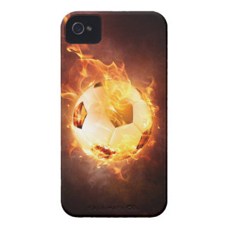 Football under Fire, Ball, Soccer iPhone 4 Covers