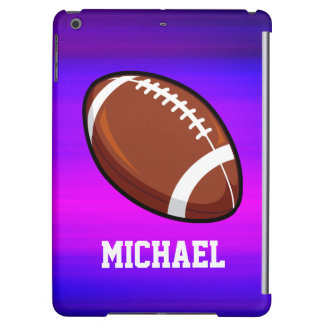 Football; Vibrant Violet Blue and Magenta