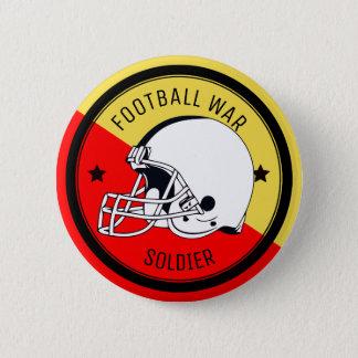 Football Warrior 6 Cm Round Badge