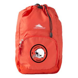 Football Warrior Backpack