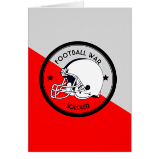 Football Warrior Card