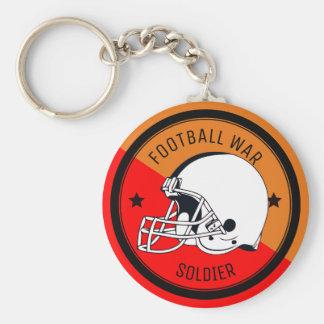 Football Warrior Key Ring