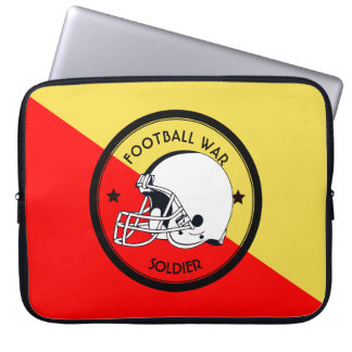 Football Warrior Laptop Computer Sleeves