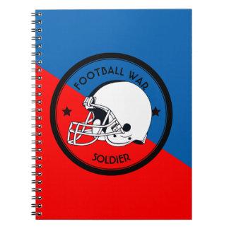 Football Warrior Notebook