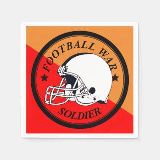 Football Warrior Paper Serviettes