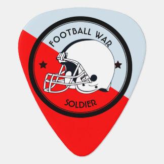 Football Warrior Plectrum