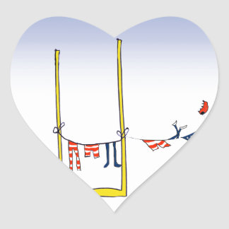 Football wash day, tony fernandes heart sticker