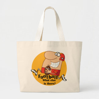 Football What Else T-shirts and Gifts Canvas Bags