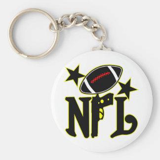 Football With a Gun Key Chains