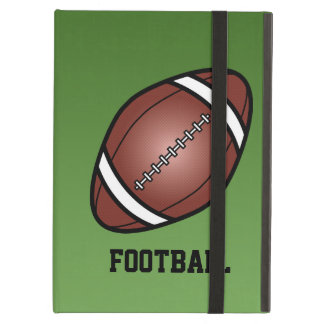 Football With Text iPad Air Covers