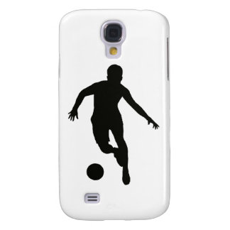 FOOTBALLER (silhouette) Galaxy S4 Cases