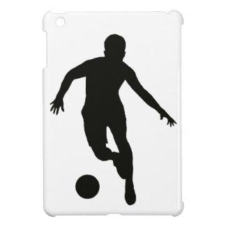 FOOTBALLER (silhouette) iPad Mini Cases