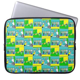 Footballers & Fans Laptop Sleeve