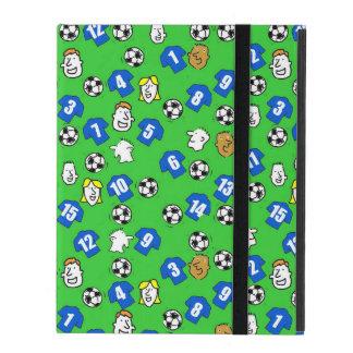 Footballs, Blue Shirts, & Fans iPad Case