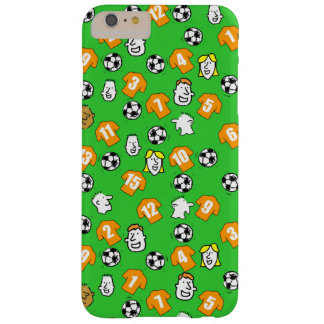 Footballs, Orange Shirts, & Fans Barely There iPhone 6 Plus Case