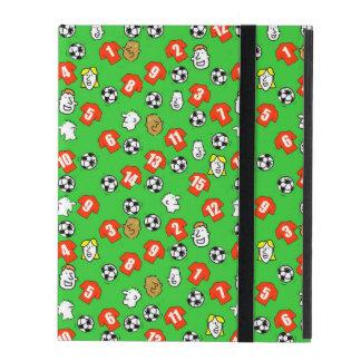 Footballs, Red Shirts, & Fans iPad Folio Case