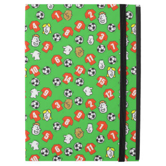 "Footballs, Red Shirts, & Fans iPad Pro 12.9"" Case"