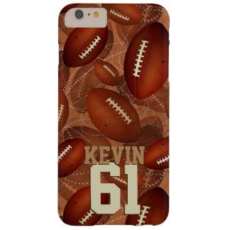 Footballz! Barely There iPhone 6 Plus Case