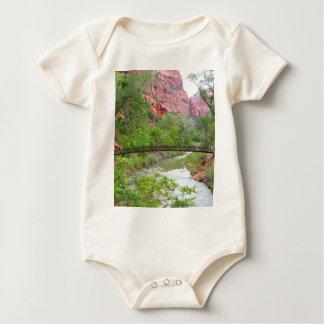 Footbridge across the Virgin River Baby Bodysuit