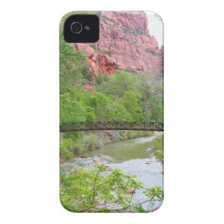 Footbridge across the Virgin River iPhone 4 Case